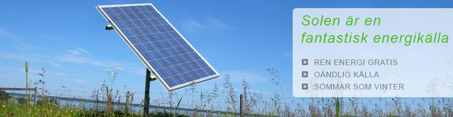 Solenergi, solceller, solpaneler, egen el - Windforce