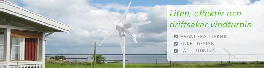 Små vindkraftverk 12v